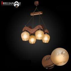 لوستر المیرا صنایع چوبی منجی