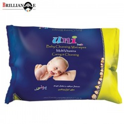 دستمال مرطوب کودک مولتی ویتامین یونی بب