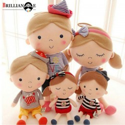 عروسک پولیشی کیدزلند کد JO097 خارجی دختر و پسر ناز کوچک