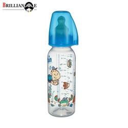 شیشه شیر پلی پروپیلن Family پسرانه 250 میل nip