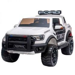 ماشین شارژی جیپ فورد طرح پلیس f150 دو موتوره
