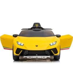 ماشین شارژی لامبورگینی زرد مدل 308