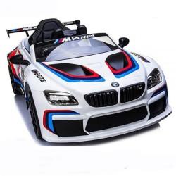 ماشین-شارژی-بی-ام-و-سفید مدل-m6