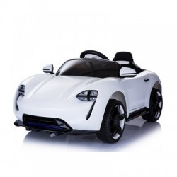 ماشین شارژی پورشه سفید مدل 127