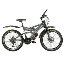 دوچرخه المپیا تایتانیک دو دیسک کد 2436 سایز 24 - OLYMPIA TITANIC 2DISC