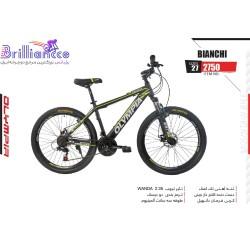 دوچرخه المپیا بیانچی سایز 27.5 کد 2750 -Olympia Bianchi