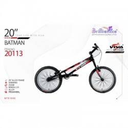 دوچرخه ویوا بتمن سایز 20 کد 20113 - VIVA BATMAN