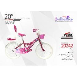 دوچرخه ویوا باربی سایز 20 کد 20242 - VIVA BARBIE