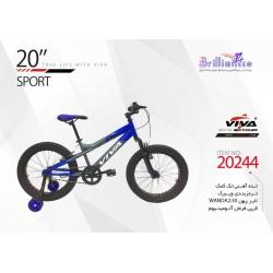 دوچرخه ویوا اسپورت سایز 20 کد 20244 - VIVA SPORT