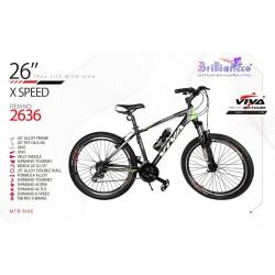 دوچرخه ویوا ایکس اسپید کد 2636 سایز 26 - VIVA X-SPEED 2020 COLLECTION