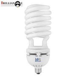 لامپ کم مصرف 105 وات نیم پیچ دلتا پایه E27